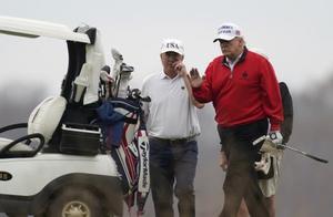 """特朗普""""逃会""""打高尔夫,彻底不顾新冠疫情,还没明白为啥落选"""