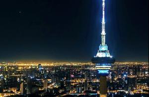 跨年夜 天津天塔 一场颠覆你想象的灯光秀