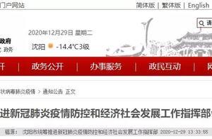 沈阳:中小学校外培训机构暂停线下教学,全市幼儿园暂时停园