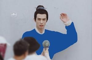 宋威龙新剧《张公案》造型曝光,一身蓝衣格外亮眼!