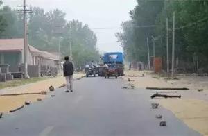 驻马店人警惕:马路晒麦出大事,多少麦子赔得起?