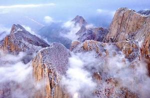 下雪的华山,才是摄影师不该错过的摄影天堂