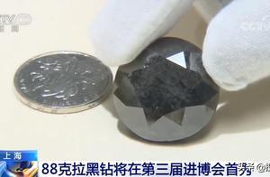 价值超2亿!88克拉黑钻进博会亮相,神秘莫测的它为何如此稀有