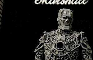 eno雕刻骷髅版钢铁侠模型