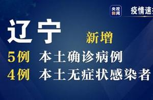 辽宁29日新增5例本土新冠肺炎确诊病例和4例本土无症状感染者