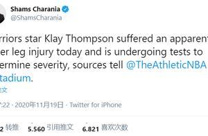 勇士遭打击!汤普森小腿明显受伤无法承重!新赛季冲冠难了