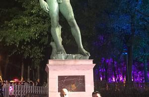 """大卫雕塑亮灯仪式川美举行 校长庞茂琨获颁""""意大利之星""""荣誉勋章"""
