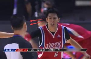 王鹤棣打篮球被判罚,爆粗口愤怒离场,发文用词刚不给裁判道歉?