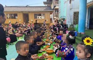 """【8点见】幼儿园让孩子学""""敬酒""""?官方回应"""