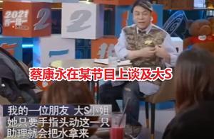 蔡康永向大S道歉:再好的关系,也经不起诋毁和传闻