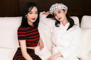 刘诗诗宋茜同框,一个精致复古,一个时尚大方,刘诗诗靠气质胜出