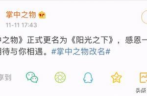 """《掌中之物》被迫改名引热议,广电局表示:这""""锅""""我们不背"""