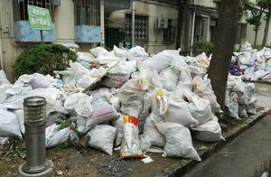 绿化带里装修垃圾堆积如山 为啥一个多月都不见清理?