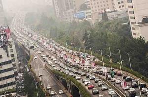 重庆已成全国最堵城市 来跟高德地图交通报告看看原因