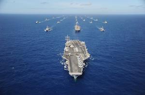 四国外长访华时,美国航母又进入南海;挑拨离间意味浓