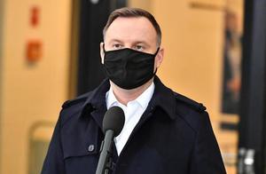 波兰总统杜达新冠病毒检测呈阳性 目前身体状况良好