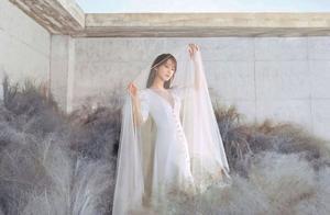 杨紫,最新云雾大片仙气写真,这风格你打几分?