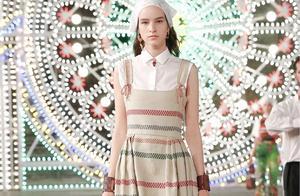 Dior 2021早春系列,多种元素展现浪漫时尚,皮束腰设计彰显复古