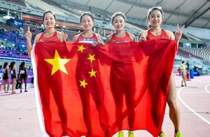 中国田径运动员引发网友激烈争议!接力失误后爆粗口确实有损形象