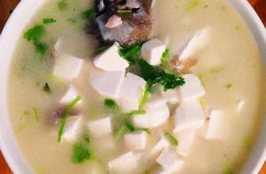 鲫鱼豆腐汤的做法,掌握了这个技巧,新手也能做出奶白色的鲫鱼汤