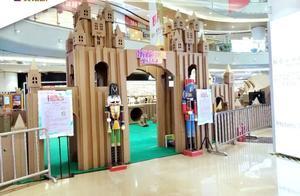 """天佑城暑期档""""纸盒城堡,童话王国""""将环保健康与童乐联系在一起"""