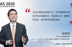 华为分析师大会:云与计算是生态型产业,做大蛋糕更重要