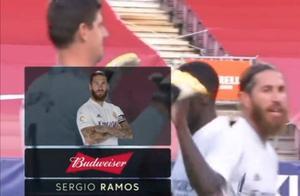 拉莫斯当选西班牙国家德比全场最佳球员,让我们恭喜水爷!!!