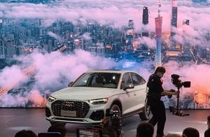 一汽-大众奥迪携焕新产品矩阵,震撼亮相2020广州车展