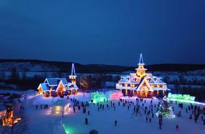漠河下雪啦!这座可以看极光摸驯鹿的童话小城,完爆芬兰