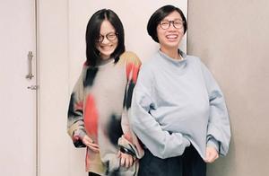 35岁徐佳莹怀孕8个月剪短发,预产期12月,曝体重增加6公斤