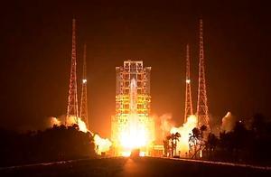 嫦娥五号发射升空,北京时间11月24日04时30分