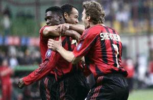 AC米兰队史今天:2005年西多夫一球致胜,追平尤文并列意甲榜首