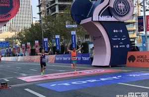 2020上海马拉松收官 贾俄仁加和李芷萱收获男女组冠军