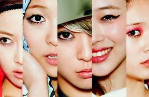 南韩女团妆容变化史,仿佛看到了曾经杀马特的自己