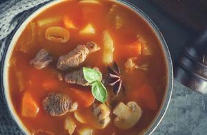 如何简单做出一碗美味的罗宋汤,酸甜可口,甜美香浓营养多