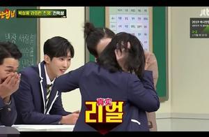 韩综:金希澈在节目中飙中文,与韩国女演员演吻戏,被扇嘴巴!