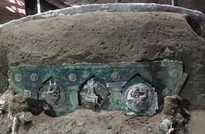 庞贝古城遗址首次出土一辆仪式用花车