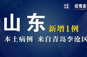 山东省29日新增1例本土确诊病例 来自青岛市李沧区
