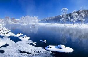 """内蒙古有条""""不冻河"""",冬季景观惊艳全国"""
