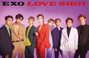 EXO《Love Shot》连续3周蝉联美国Billboard榜单第一