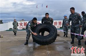 中国赴黎巴嫩维和部队组织比武竞赛迎接2019年新年