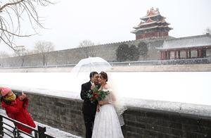 北京:时隔一天再次降雪