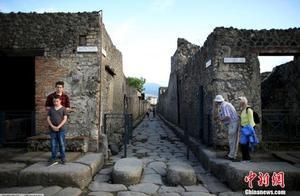 """古罗马也有""""快餐店""""?庞贝古城出土2000年前柜台"""