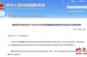 又有489个学位点被撤销,河南有5个!郑州大学、河南理工大学等上榜