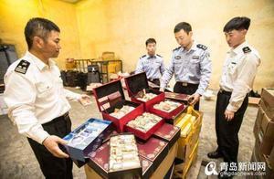 走私化妆品、烟酒 37名水客被青岛海关一锅端