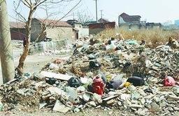 村庄搬迁后,历城区、章丘区成垃圾乱倒重灾区