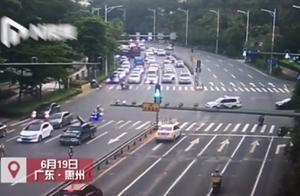 孕妇临产路上遇堵!惠州交警为生命开路接力