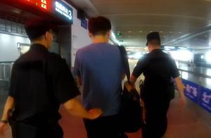 男子贪图便宜坐火车逃票300余次,这次又逃直接被刑拘