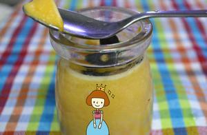 宝宝零食——自制奶香南瓜布丁
