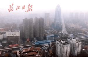 武汉下起鹅毛大雪!这才是今冬第一场雪